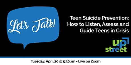Let's Talk!: Teens and Suicide tickets