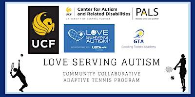 PALS Community Collaboration: Love Serving Autism Tennis