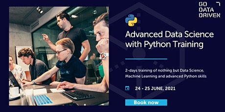 Advanced Data Science with Python Training tickets