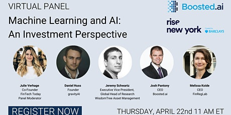 Machine Learning and AI: An Investment Perspective tickets