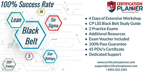 Lean Six Sigma Black Belt(LSSBB) Certification Training in Bloomington tickets