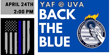 YAF at UVA Backs the Blue tickets