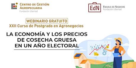 La Economia y los Precios de Cosecha Gruesa en un Año Electoral biglietti