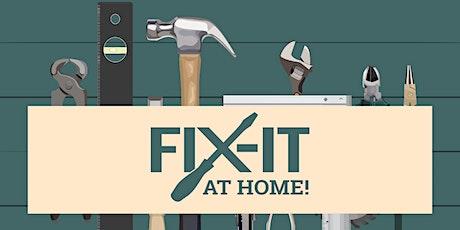 Fix-It at Home! Fundamentos de la reparación de bicicleta entradas