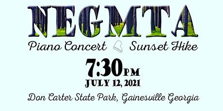 NEGMTA Piano Concert Sunset Hike tickets