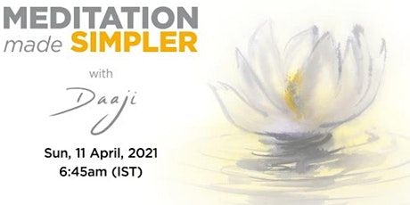 Experience Heartfulness: Meditation made simpler tickets