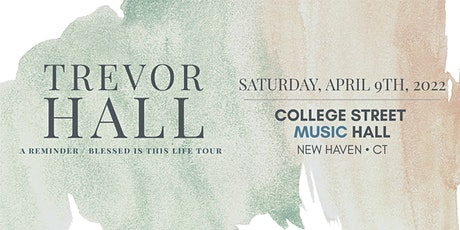 Trevor Hall tickets