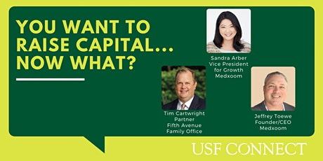 You Want to Raise Capital… Now What? tickets