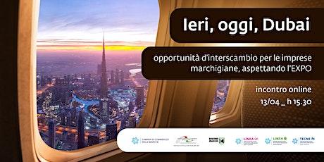 Ieri, oggi, Dubai (13/04/2021) biglietti