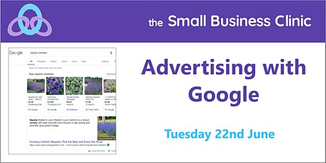 Advertising with Google – 22nd June, online tickets