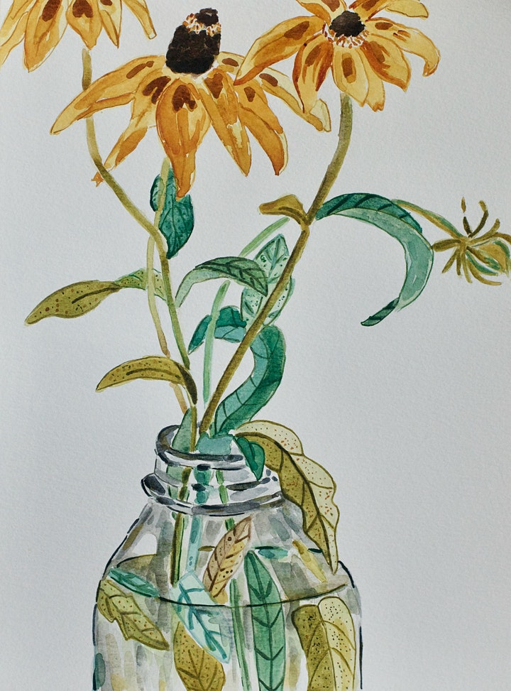 Watercolour for Beginners - Michelle Marin image