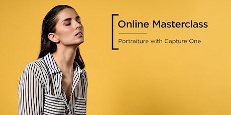 Online Masterclass | Portraiture with Capture One billets