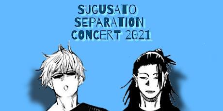 SuguSato Separation Concert 2021 tickets