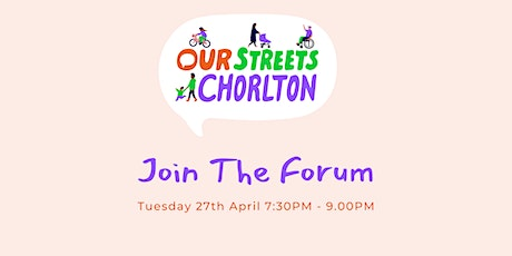 Chorlton Climate Action Community Forum - April Meet Up tickets