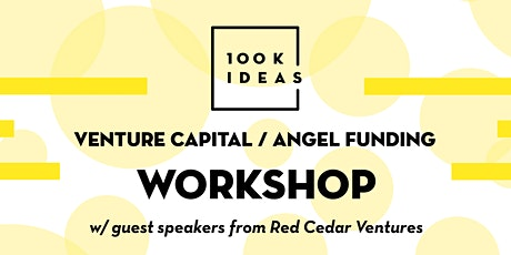 Venture Capital / Angel Funding Workshop bilhetes