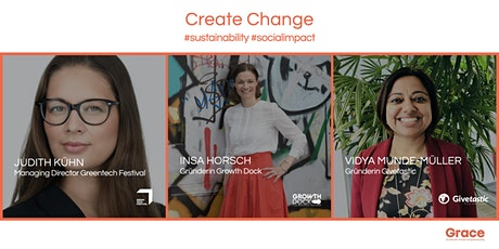 Create Change - Accelerate Impact Entrepreneurs Tickets