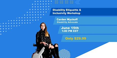 iAccess Life Disability Etiquette & Inclusivity Workshop tickets