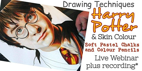 Drawing Techniques - Harry in Pastels and Pencils - Art Webinar for Kids tickets