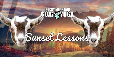 Mothers Day Sunset Goat Yoga - May 9th (RMGY Studio) tickets