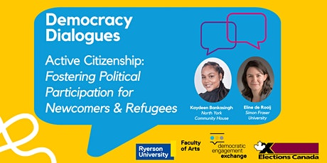Active Citizenship: Fostering political participation for newcomers tickets