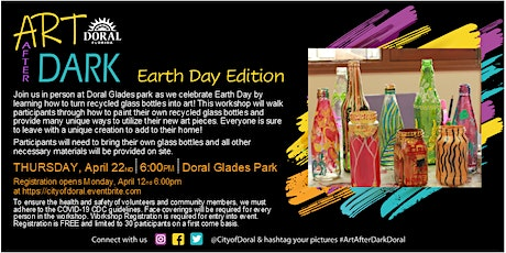 Art After Dark Workshop: Earth Day Edition tickets