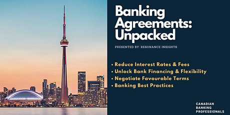 Commercial Banking Agreements Unpacked - Secrets to Save You Money tickets