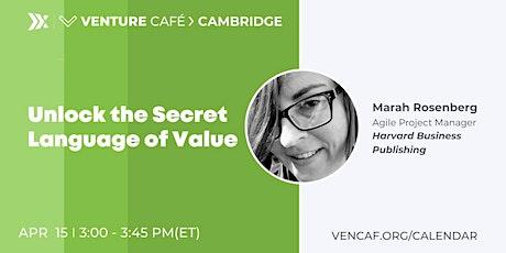 Unlock the Secret Language of Value tickets