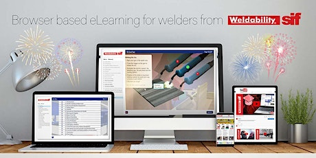Weldability Sif eLearning Level 1 & 2 Software Demo and Online Course tickets