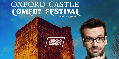 Oxford Castle Comedy Festival - 2nd June 7-8pm  - Marcus Brigstocke tickets