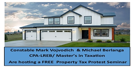 Free- Property Tax Protest Seminar tickets