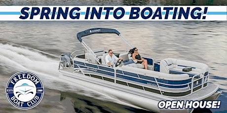 Freedom Boat Club Long Neck   Spring into Boating Open House! tickets