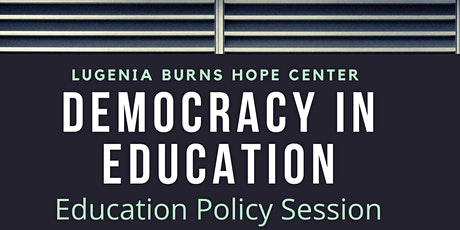 Democracy in Education tickets