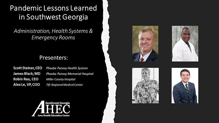 Pandemic Lessons Learned in Southwest Georgia Webinar #1 On-Demand image