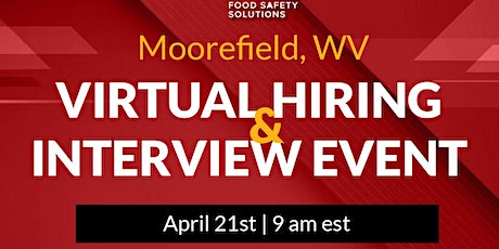 JOBS!  Virtual Interview and Hiring Event. Sponsored by PSSI tickets