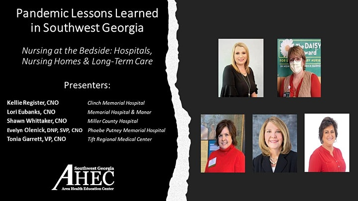 Pandemic Lessons Learned in Southwest Georgia Webinar #2 On-Demand image