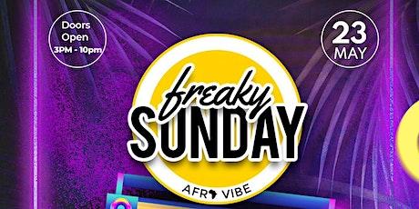 Freaky Sunday Afrovibe tickets