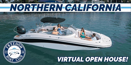 Freedom Boat Club of Northern California| Spring Kickoff Zoom InfoSession! tickets