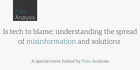 Is tech to blame: understanding the spread of misinformation and solutions tickets