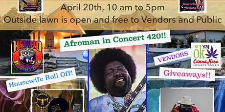 420 Afroman Concert and Celebration tickets