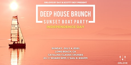 Deep House Brunch 4th of July BOAT PARTY tickets