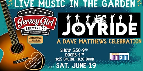 JOYRIDE: A Dave Matthews Celebration @ Jersey Girl Brewing! tickets