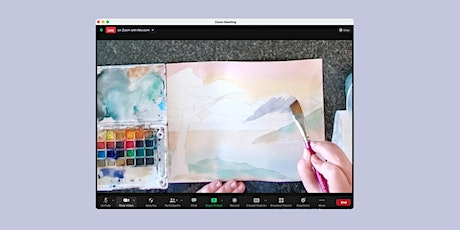 Online Youth Watercolour Workshop tickets