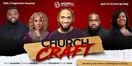 Churchcraft: Breaking the Powers of Religious Control tickets