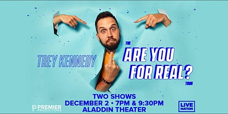 Trey Kennedy: The Are You For Real? Tour (LATE SHOW) tickets