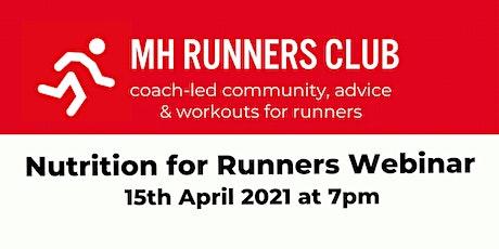 Nutrition For Runners Webinar tickets