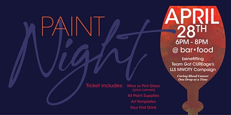 Charity Paint Night tickets