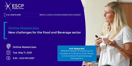 Masterclass:  New challenges for the Food & Beverage sector tickets