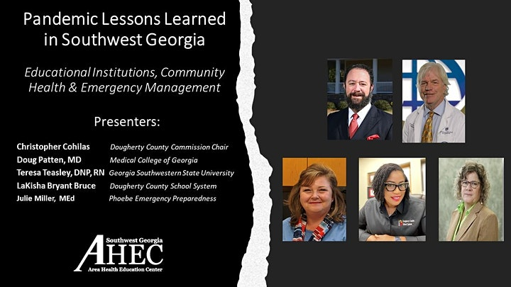 Pandemic Lessons Learned in Southwest Georgia Webinar #3 On-Demand image