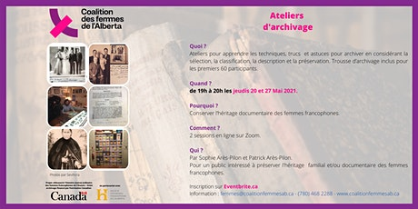 Ateliers d'Archivage billets