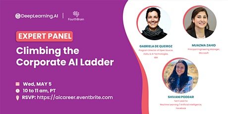 Climbing the Corporate AI Ladder tickets